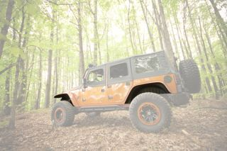 2007 2016 Jeep Wrangler Wheel Well Liners   Rugged Ridge 11620.5   Rugged Ridge Fender Flare Wheel Well Liners
