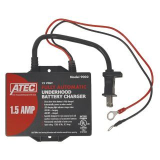 ATEC Battery Maintainer,12V   Automotive Battery Chargers and Boosters   45RK16|9002