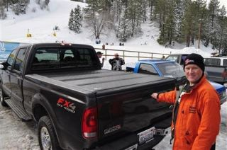 BAK Industries   BAKFlip Fibermax Hard Folding Tonneau Cover   Fits 78.0 in./6 ft. 6 in. Bed and also With Cargo Channel System