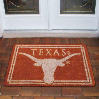 Texas Longhorns 18 x 30 Coir Welcome Mat