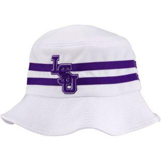 LSU Tigers Gilligan Bucket Hat   White