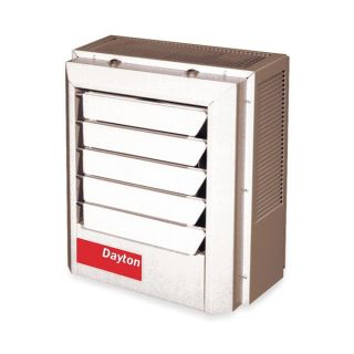 Dayton 2YU66 Electric Unit Heater, 7.5/5.6 kW, 240/208V