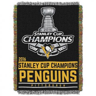 Officially Licensed NHL 2016 Stanley Cup Champions Pittsburgh Penguins 48 x 60    8180390