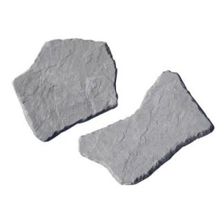 Nantucket Pavers 20 in. and 21 in. Irregular Concrete Blue Stepping Stones Kit (20 Piece) 52201