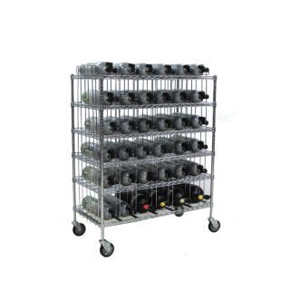 GROVE Mobile Bottle Cart,Maximum 36 Bottles   SCBA Accessories   20AT61|MBR 36