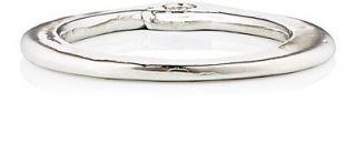 Ali Grace White Diamond Thin Stackable Ring