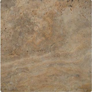 MS International Porcini 16 in. x 16 in. Tumbled Travertine Paver Tile (20 Pieces / 35.6 Sq. ft. / Pallet) LPAVTPOR1616T
