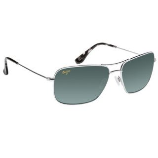 Maui Jim Wiki Wiki Sunglasses   Silver Frame with Neutral Grey Lens