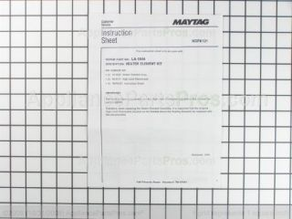 Whirlpool LA 1044 Dryer Heating Element Kit