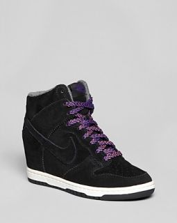 Nike High Top Wedge Sneakers   Nike Dunk Sky Hi