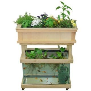 Earth Solutions Little Tokyo Aquaponics Container Gardening without a Tank DISCONTINUED OTG FB06