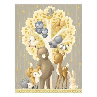 Oopsy Daisy The Animal Tree by Sarah Lowe Canvas Art