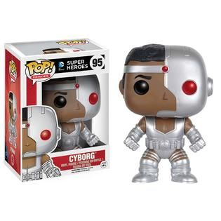 Funko 7263 POP Heroes Classic Cyborg POP   Toys & Games   Action