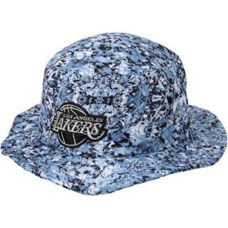 Los Angeles Lakers adidas Diamonds Bucket Hat   White