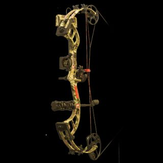 PSE Bow Madness 30 RTS Bow Package LH 70 lbs. Break Up Infinity