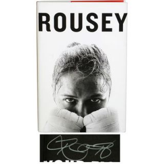 Ronda Rousey Ultimate Fighting Championship  Authentic Autographed My Fight/Your Fight Hardcover Book