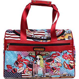 Nicole Lee Jamie 17  Carry on Duffel Bag