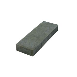 Tan/Charcoal Rectangle Concrete Paver (Common: 6 in x 18 in; Actual: 6 in x 18 in)