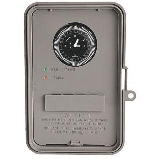 INTERMATIC Defrost Timer Control, 120/240VAC Voltage, Defrost Time (Minutes): 15 to 1425   Defrost Timer Control   20XF94|DTAV40