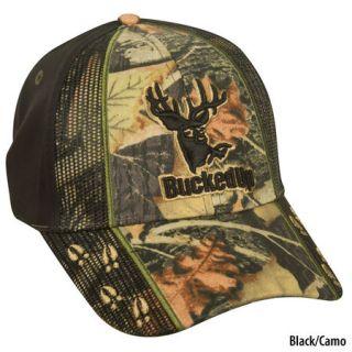BuckedUp Deer Tracks Logo Cap