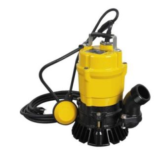 Wacker 1/2 HP 2 in. Electric Submersible Utility Pump with Float 0620435
