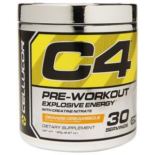 Cellucor C4 Pre Workout, Orange Dreamsicle