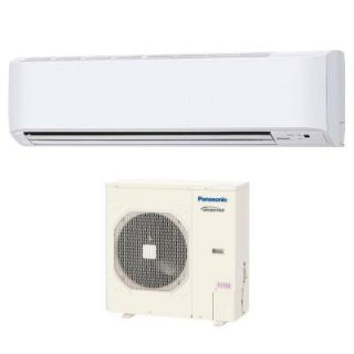 Panasonic 36,000 BTU 3 Ton Ductless Mini Split Air Conditioner with Heat Pump   208 or 230V/60Hz KE36NKU