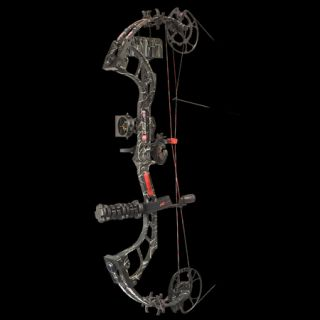 PSE Bow Madness 32 RTS Bow Package LH 60 lbs. Skullworks