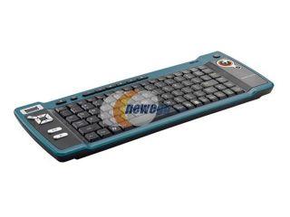 Trust 14909 Black 88 Normal Keys 16 Function Keys 2.4 GHz Wireless Slim KB 2950 Vista Remote Keyboard