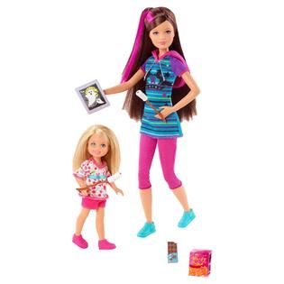 Barbie Sisters in a Pony Tale Doll (2 Pack) Skipper & Chelsea   Toys