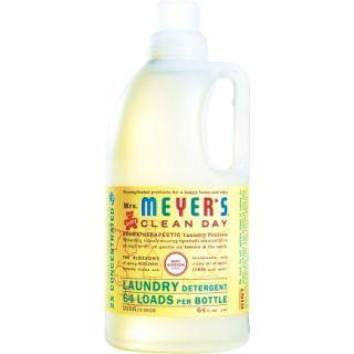 Mrs. Meyer's 64 Oz Baby Blossom Scent Liquid Laundry Detergent (17511)   Laundry Detergent