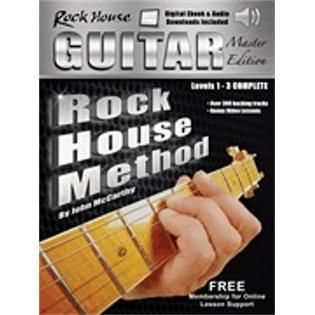 Hal Leonard Hal Leonard The Rock House Guitar Method Master Edition 1