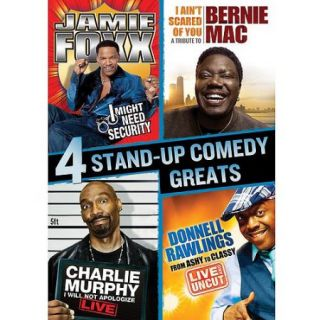 Stand Up Comedy Greats Collection: Bernie Mac / Charlie Murphy / Jamie Foxx / Donnell Rawlings (Widescreen)