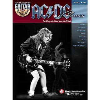 AC/DC Classics: Guitar Play Along Volume 119