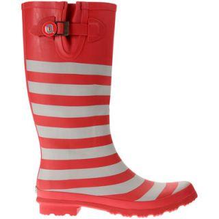 Ohio State Buckeyes Lillybee U Womens Rain Boots with Logo Snap
