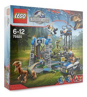 LEGO   Raptor escape playset