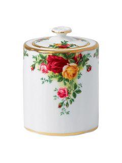 Royal Albert Old country roses tea caddy