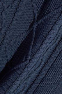 Cable knit mini dress  Richard Nicoll