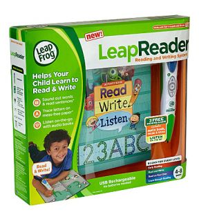 LEAP FROG   LeapReader reading and writing system   green