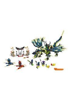 Lego Ninjago Attack Of The Morro Dragon