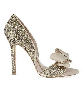 MISS KG   Gabriella glitter heeled sandals