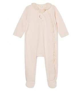 CHLOE   Side frill cotton baby grow 1 9 months