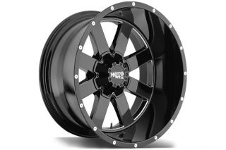 "Moto Metal MO96229035300   5 x 5"" Bolt Pattern Black 20"" x 9"" MO962 Gloss Black Wheels   Alloy Wheels & Rims"
