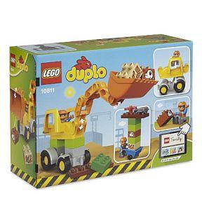 LEGO   duplo backhoe ladder
