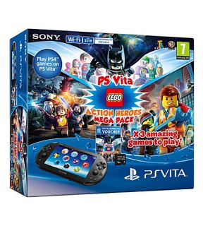 SONY   LEGO multiverse PS Vita console and game bundle
