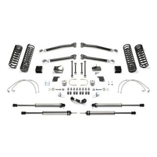 Fabtech   5 Inch Trail Long Travel System with Dirt Logic 2.25 Non Resi Shocks   Fits 2007 to 2016 JK Wrangler and Rubicon