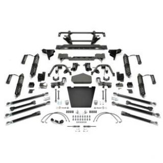 Fabtech   5 Inch Crawler Coilover II System with Dirt Logic 2.5 Resi Coilovers   Fits 2007 to 2016 JK Wrangler Unlimited, Rubicon and Unlimited