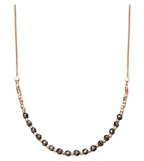 ASTLEY CLARKE   Hematite Detail 18ct rose gold plated necklace