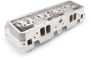 Edelbrock 775369   Bare, sold individually, 36cc chamber volume, 18° valve angle, hot isostatic pressed 262 400 ci. Chevy   Cylinder Heads
