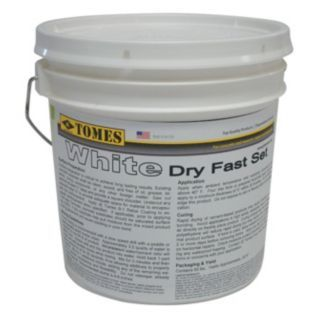 DRY FAST White Concrete Patch and Repair, 10 lb. Size, Coverage: 75 sq. ft. (Thinned and Bushed On), 10 sq. f   Concrete Patching and Repair Compounds   15F534 GRA 107 W